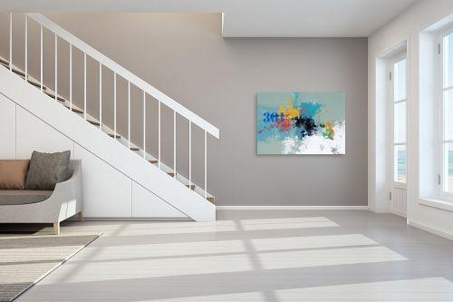 תמונה לחדר מדרגות - גורדון - מופשט 301 - מק''ט: 333318