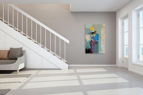 תמונה לחדר מדרגות - גורדון - אהבה בעיר זרה - מק''ט: 334551
