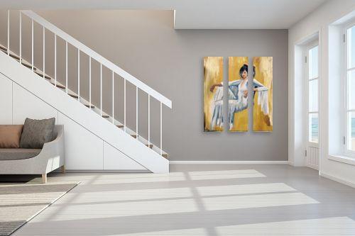 תמונה לחדר מדרגות - MMB Art Studio -  Delighted  - מק''ט: 334815
