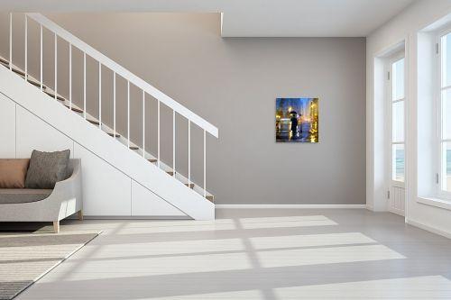 תמונה לחדר מדרגות - Artpicked - חורף בעיר - מק''ט: 337604
