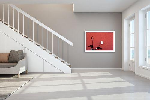 תמונה לחדר מדרגות - שרית סלימן - מחושים - מק''ט: 49055