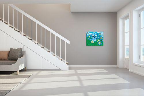 תמונה לחדר מדרגות - חנן אביסף - Bear blue - מק''ט: 53162
