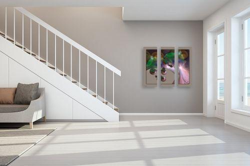 תמונה לחדר מדרגות - רעיה גרינברג - עץ הדעת - מק''ט: 61801