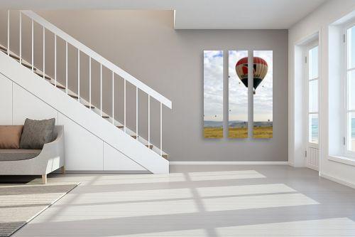 תמונה לחדר מדרגות - שרית סלימן - כדור באוויר - מק''ט: 66000