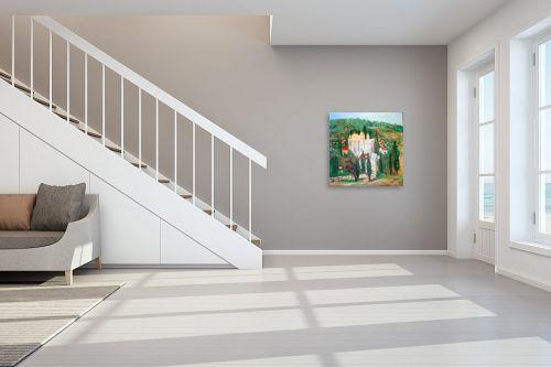 תמונה לחדר מדרגות - רינה יניב - עין כרם - מק''ט: 75794