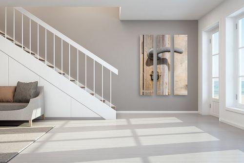 תמונה לחדר מדרגות - אמיר אלון - אצל מי המפתח? - מק''ט: 786