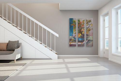 תמונה לחדר מדרגות - רינה יניב - ענפי שלכת - מק''ט: 80500