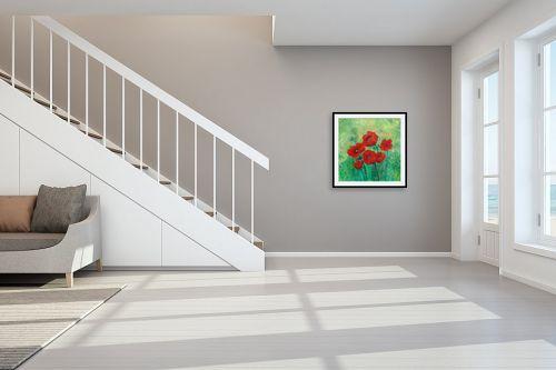 תמונה לחדר מדרגות - רינה יניב - כלניות בשרון - מק''ט: 80507