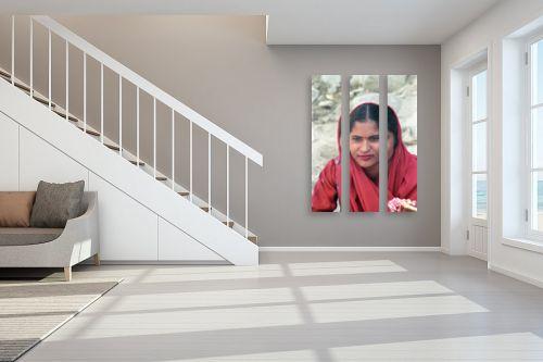 תמונה לחדר מדרגות - דן ששתיאל - פנים יפות - מק''ט: 97185