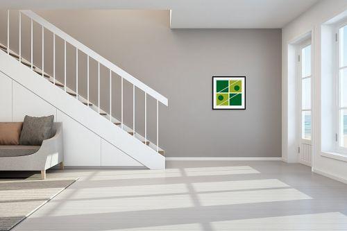 תמונה לחדר מדרגות - אתי דגוביץ' - דגם ריבוע 2 - מק''ט: 99056