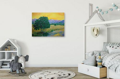 תמונה לחדר ילדים - אסתר חן-ברזילי - עמק הירדן - מק''ט: 107562