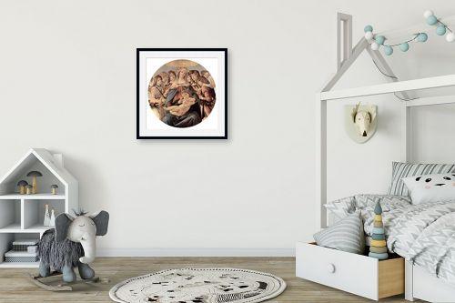 תמונה לחדר ילדים - סנדרו בוטיצ'לי - Botticelli Sandro 035 - מק''ט: 115953