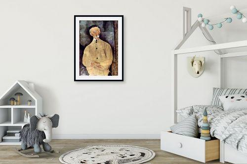 תמונה לחדר ילדים - אמדאו מודיליאני - Amedeo Modiglian 008 - מק''ט: 131717