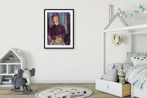תמונה לחדר ילדים - אמדאו מודיליאני - Amedeo Modiglian 010 - מק''ט: 131719