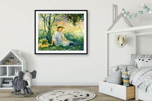 תמונה לחדר ילדים - ברת מוריזו - Morisot Berthe 064 - מק''ט: 131792