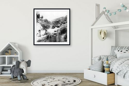 תמונה לחדר ילדים - דוד לסלו סקלי - מבצע נחשון 1948 - מק''ט: 144340