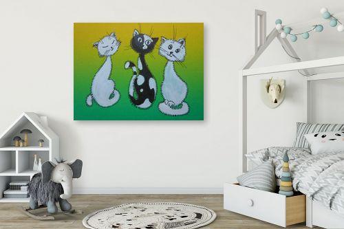 תמונה לחדר ילדים - נטליה ברברניק - אימה - מק''ט: 155000