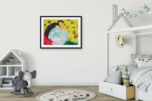 תמונה לחדר ילדים - נטליה ברברניק - שלמות - מק''ט: 156114