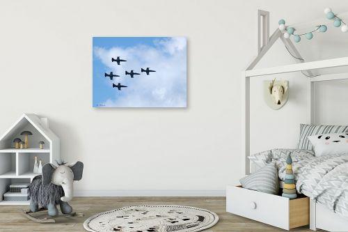 תמונה לחדר ילדים - ארי בלטינשטר - מפגן אוירי 03 - מק''ט: 159553
