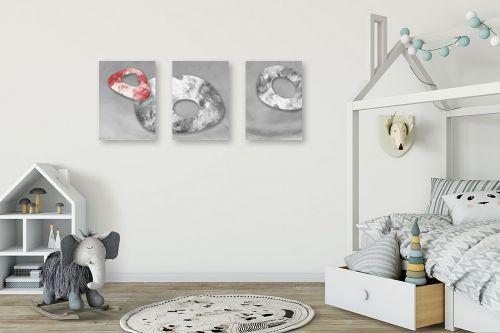 תמונה לחדר ילדים - נעמי עיצובים - אבן אודם - מק''ט: 164839