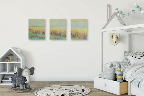 תמונה לחדר ילדים - רינה יניב - שיבולים שיבולים בחמה - מק''ט: 169788