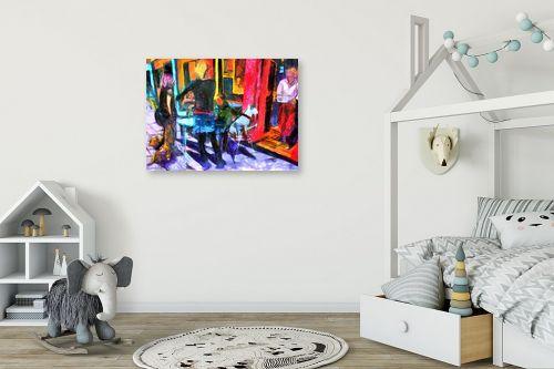 תמונה לחדר ילדים - בן רוטמן - רחוב שנקין-תל אביב - מק''ט: 170467