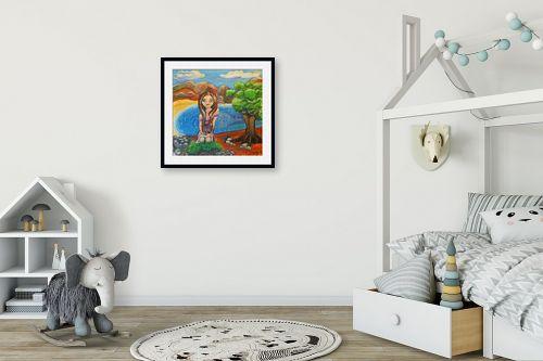 תמונה לחדר ילדים - אילה ארויו - איזה כיף פה - מק''ט: 171360