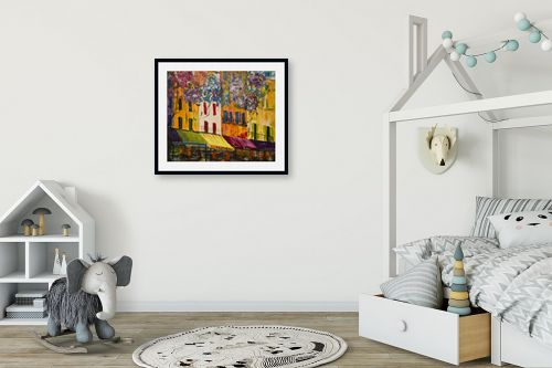 תמונה לחדר ילדים - רוחלה פליישר - בצל העץ השמח - מק''ט: 173139