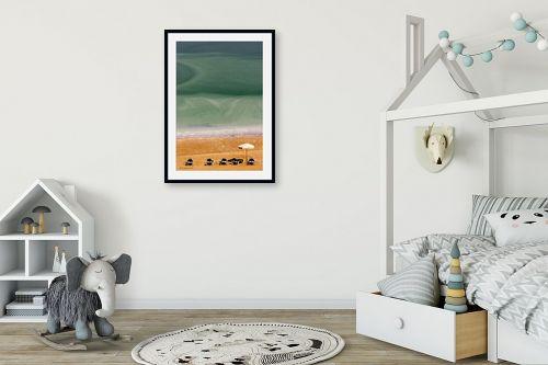 תמונה לחדר ילדים - שרית סלימן - שלווה בים המלח 2 - מק''ט: 177337