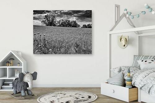 תמונה לחדר ילדים - ארי בלטינשטר - שדות דגן לנצח - מק''ט: 202759