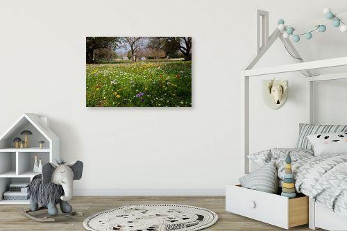 תמונה לחדר ילדים - מיכל פרטיג - גן עדן - מק''ט: 206126