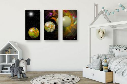 תמונה לחדר ילדים - ויקטוריה רייגירה - החלל שלי - מק''ט: 223211