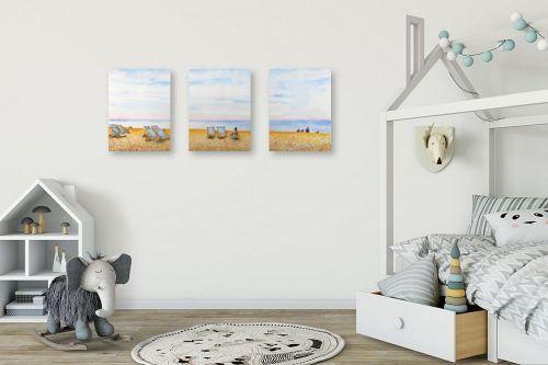 תמונה לחדר ילדים - חיה וייט - חוף ים בברייטון - מק''ט: 234414