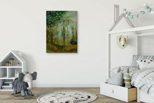 תמונה לחדר ילדים - שרה וולקוב - היער הקסום - מק''ט: 236229