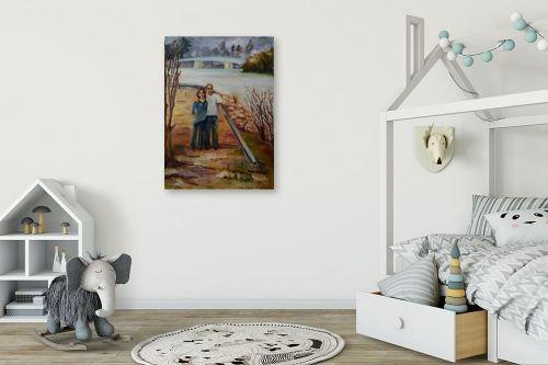 תמונה לחדר ילדים - שרה וולקוב - מחוץ לעיר - מק''ט: 236279
