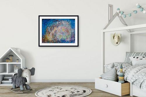 תמונה לחדר ילדים - אירית שרמן-קיש - צבעים במרחב - מק''ט: 260378
