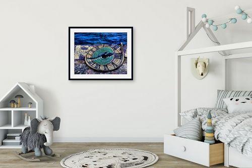 תמונה לחדר ילדים - אורית גפני - מעגלי הזמן - מק''ט: 270781