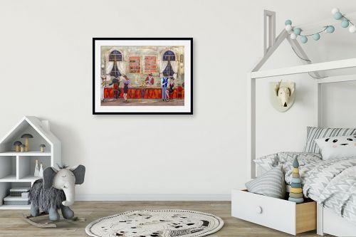 תמונה לחדר ילדים - רוחלה פליישר - לצלילי החצוצרה - מק''ט: 271764