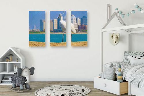 תמונה לחדר ילדים - ויקטוריה רייגירה - תל-אביב - מק''ט: 273221