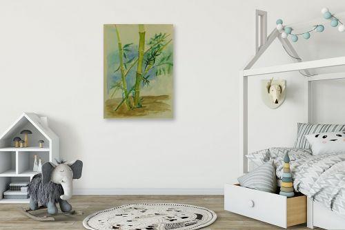 תמונה לחדר ילדים - רינה יניב - במבוק - מק''ט: 277516