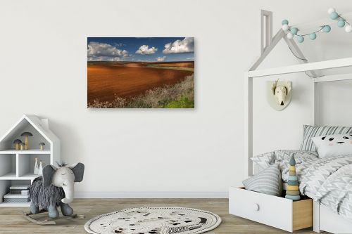 תמונה לחדר ילדים - מיכאל שמידט - חקלאות ציורית - מק''ט: 278042
