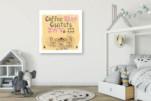 תמונה לחדר ילדים - רוזה לשצ'ינסקי - Coffee Shop - מק''ט: 279293
