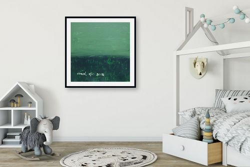 תמונה לחדר ילדים - ורד אופיר - שדה ירוק - מק''ט: 283832