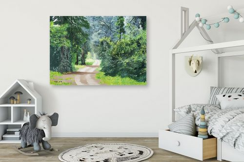 תמונה לחדר ילדים - נריה ספיר - שביל ביער - מק''ט: 284491