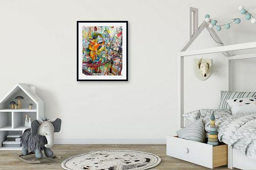 תמונה לחדר ילדים - בן רוטמן - החיים הם לונה פארק - מק''ט: 294312