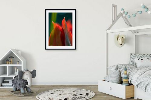 תמונה לחדר ילדים - דורית ברקוביץ - אש בוערת - מק''ט: 298965