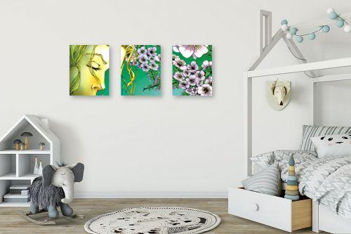 תמונה לחדר ילדים - חנן אביסף - עונות השנה - אביב - מק''ט: 302753