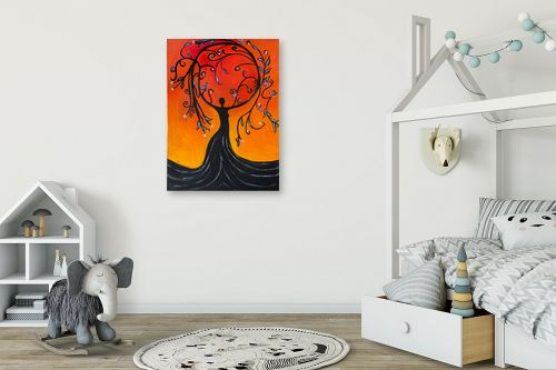 תמונה לחדר ילדים - אסתר חן-ברזילי - אלת עץ הריקוד - מק''ט: 306094