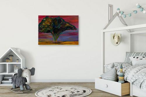 תמונה לחדר ילדים - אסתר חן-ברזילי - עץ שיטה - מק''ט: 306127