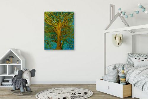 תמונה לחדר ילדים - אסתר חן-ברזילי - עץ השמש - מק''ט: 306212